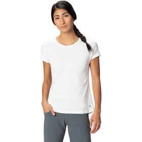 Mountain Hardwear Mighty Stripe T-shirt Dames, fogbank
